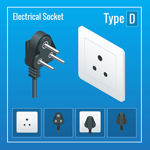 Madagascar power-plug-socket-type-d